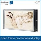 Flintstone 32 inch frameless LED TV, high quality digital signage totem, cosmetic advertising video player