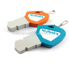 PVC key shape usb generic usb flash disk