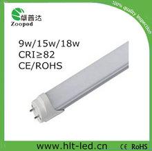 110lm / w 18 w 1200 mm t8 llevó el tubo fluorescente llantas