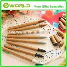 Custom artwork logo ad eco-friendly recycled paper pen