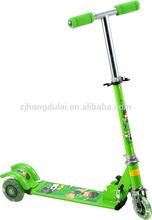 Iron push kick scooter