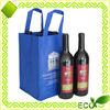 recycled eco friendly hot sales laminated non woven wine bag