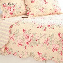 100% Polyester Bed Sheet Quilted