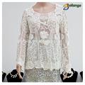 bailange yeni tasarım sıcak satış çok renkli bayan yaz ipek bluz modelleri