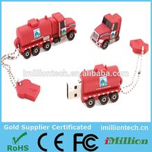 Fire Truck USB,Fire Truck USB Flash Drive,Fire Truck Pen Drive