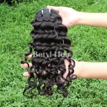 Beryl Hair Peruvian Italian Wave 100% Human virgin Hair Extension Type