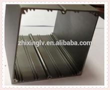 Square Electric Transformer PCB Aluminum Enclosure 90.5*90.5-150 Length big aluminum Box/Aluminum Extrusion Box