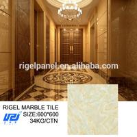 600x600 marble texture printing on ceramic tile