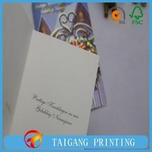 Impressão formas diferentes cartões, Impressão do cartão de convite