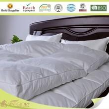 solo laye de alta calidad suave y esponjosa 2014 de plumas de ganso de la cama