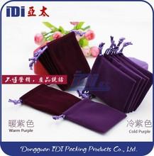 fashion jewelry velvet bag