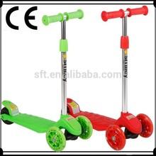 mini children scooter/three wheel kick scooter/foot with wheel bike
