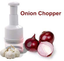 Manual vegetable stainless steel onion chopper
