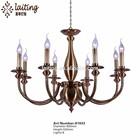 Nice candle chandelier, brass chandelier lighting 81933