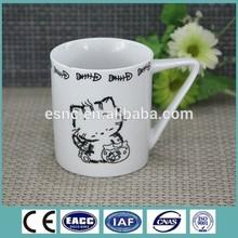 Grade A quailty christmas gift ceramic mugs with design printing