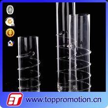 Long-stem stained glass vase decorative murano art glass vase