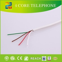 100m Telephone station cable 4-conductor phone line wire solid copper 24awg jelly filled underground telephone cable