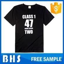 Wholesale custom cotton tshirt , design your own t shirt
