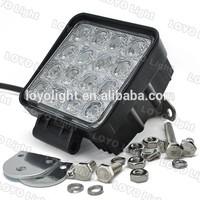 USA market led display hot sale 48W 12 Volt LED Work Light 12v led car spotlights