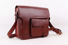 Westen Real Leather School Messenger Bag