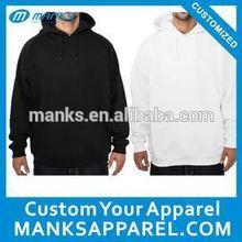 plain black french terry cheap white hoodies