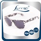 2015 Hot sunglasses plastic two tone wayfarer sunglasses/shades
