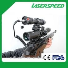 LASERSPEED LS-KS1-G50 Gun Green Laser Pointer Sight Scope Flashlight for Rifle Hunting