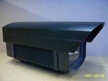 802C dark aluminium alloy outdoor&indoor waterproof cctv camera housing