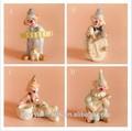 домашний декор керамических ремесла музыкальная клоун игрушки