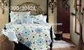 hot style turc imprimé drap de lit