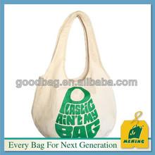 reusable eco friendly canvas shopping tote bag,China supplier