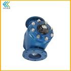 Reliably sealing flow meter water