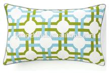 grill confetti cushion cover,colorful geometric link lumbar cushion cover