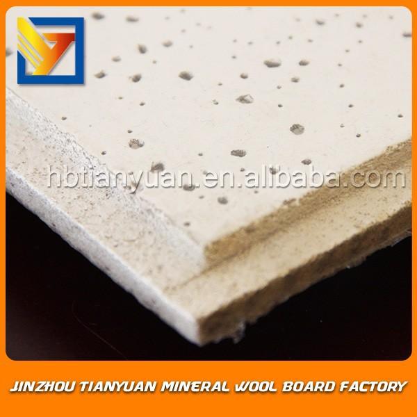 Mineral Fiber Board False Ceiling Mineral Fiber False