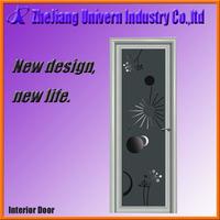 modern aluminum commercial entry door/main door design kerala door/smoked glass interior doors