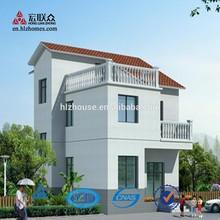 Professinoal Design Village Light Steel Structure Prefabricated House
