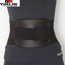 curved lower back support belt for winter and summer use