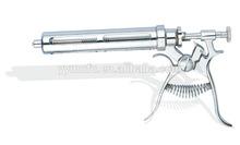 Metallic Continuous Veterinary automatic Syringe 20ml