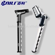 No electric 2 blade shaving razor
