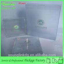 Hot custom clear a4 size plastic document box