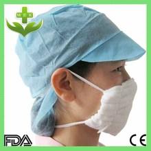 xiantao wuhan hubei mek healthcare items peak cap nonwoven disposable gorro for worker