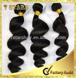 China direct factory wholesale price top quality 6a grade virgin brazilian ocean tropic loose hair