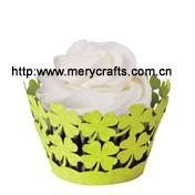 2015 Wedding Supplies Laser Paper Cupcake Liners Wholesale Decoration Wedding