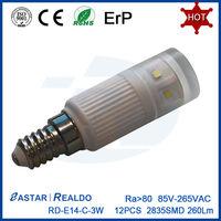 Best LED E14 Bulb 3W 4W 5W 360 Degree E14 LED Light