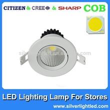 7w led downlights 85-265v wide voltage selectable
