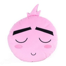 Factory Price Custom Cute Emoji Cushion For Girls