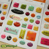 Custom 3D Strong Self Adhesive Epoxy Dome Sticker