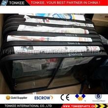 made in China EX200-2 excavator cabin door glass excavator glass