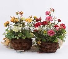 Removable artificial flower pot plastic,flower pot plastic,flower pot