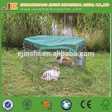 6 Panel Metal Play Run Cage Pet Dog Puppy Pen for Rabbit Guinea Pig Cat